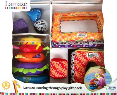 Lamaze Learning Through Play Gift Pack 0 - 24 Months Toy