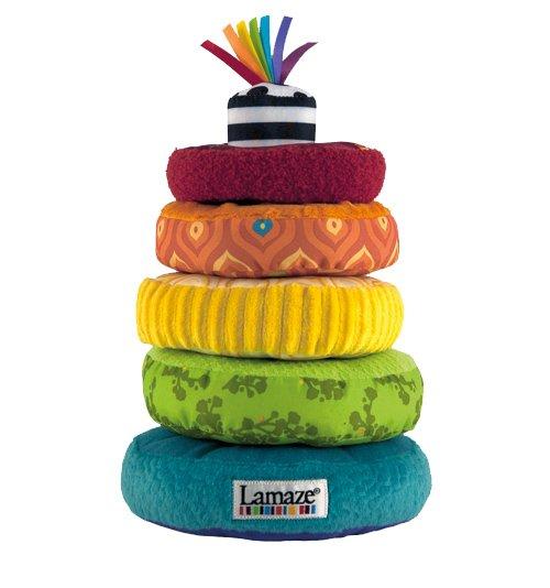Lamaze rainbow rings toy