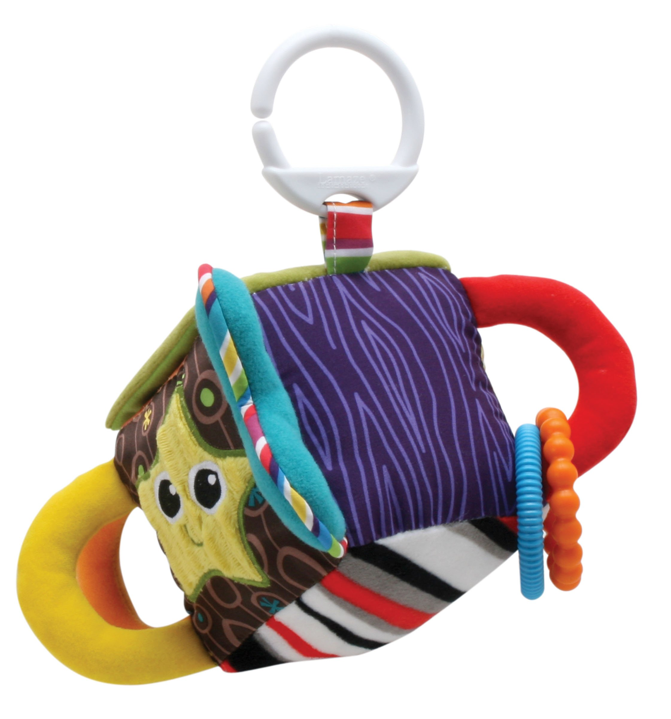 Lamaze Toys Cube Clutch ToyRefresh