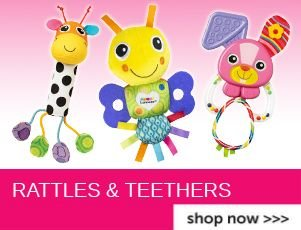 Click for Rattles and Teethers